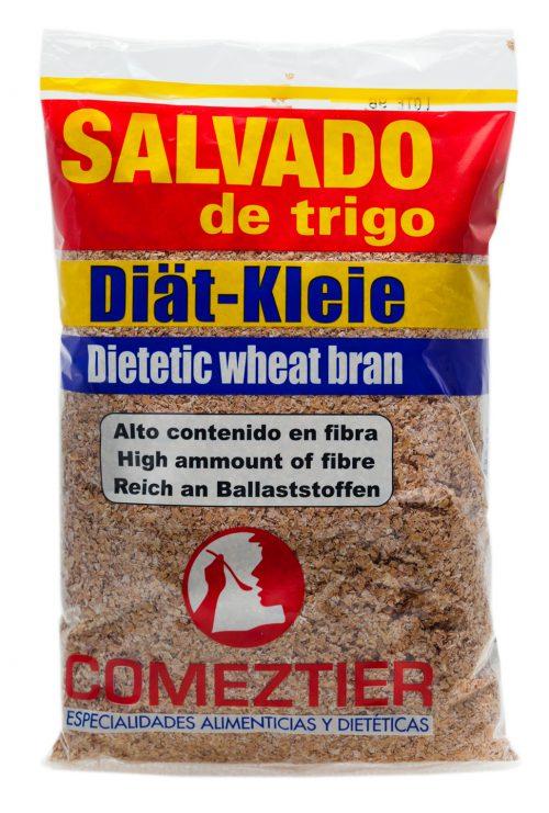 Salvado de trigo Comeztier, paquete de 200 g