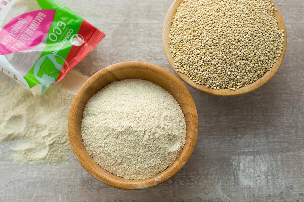 receta pan con harina de quinua