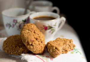 Muy sanas y muy caseras: galletas de avena y almendras