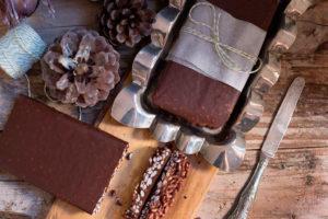 Turrón de chocolate y arroz inflado crujiente, una propuesta sencilla y casera