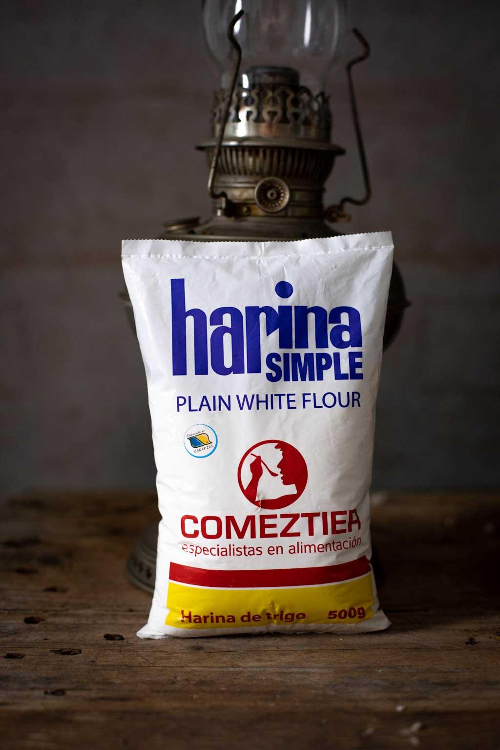 harina simple de trigo